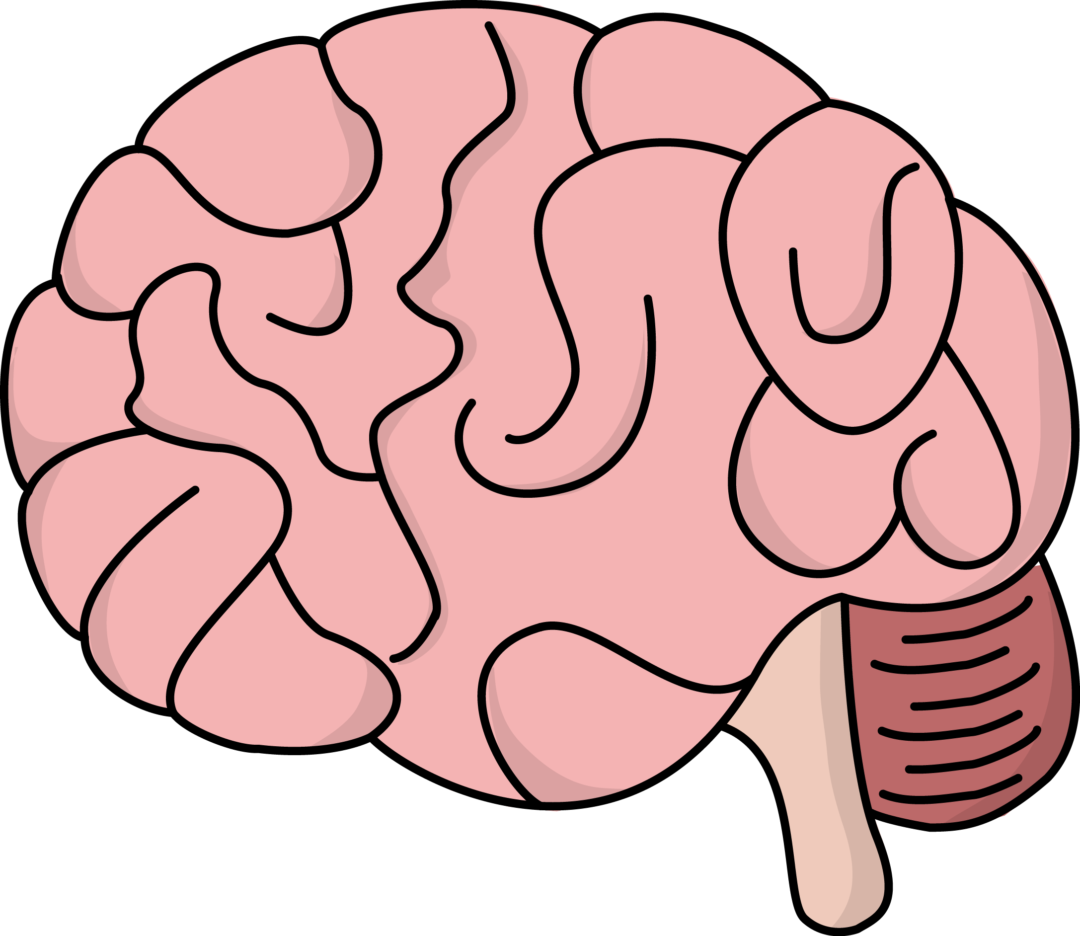 Free Brain Cliparts Transparent Download Free Clip Art