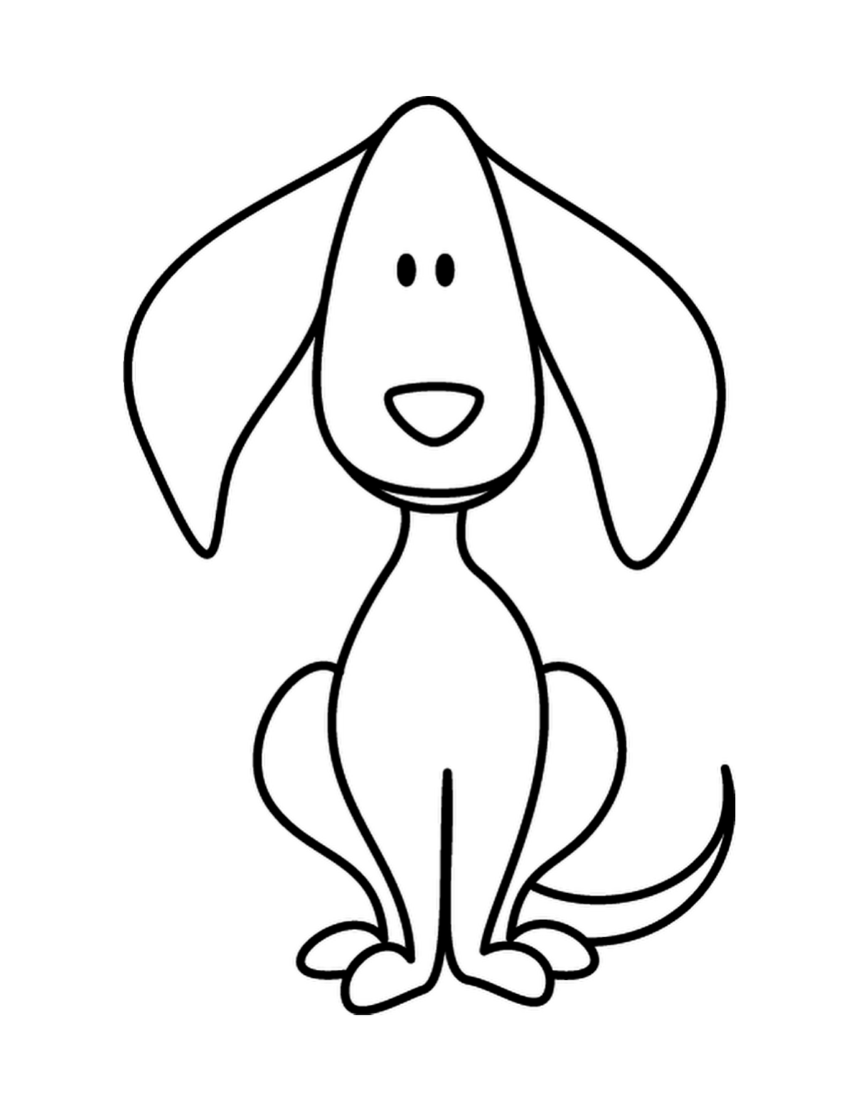 Dog Clipart Simple