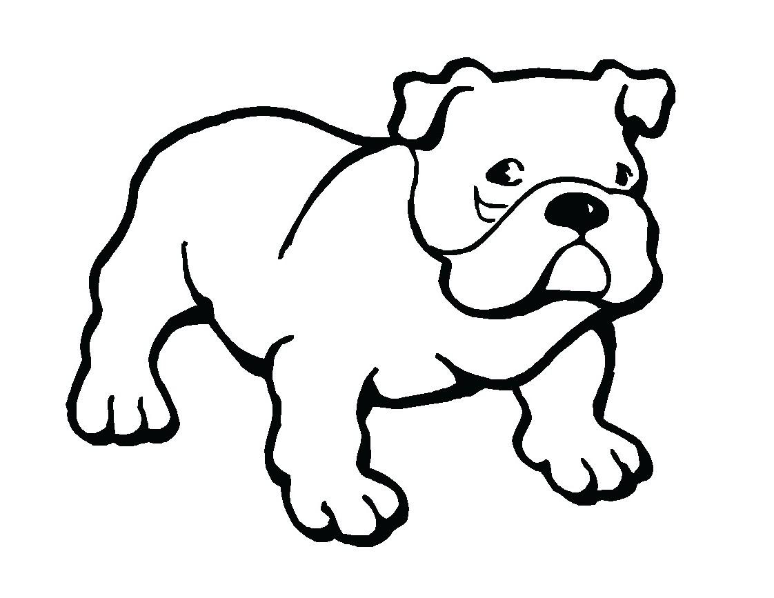 Cute Puppy Easy Clipart