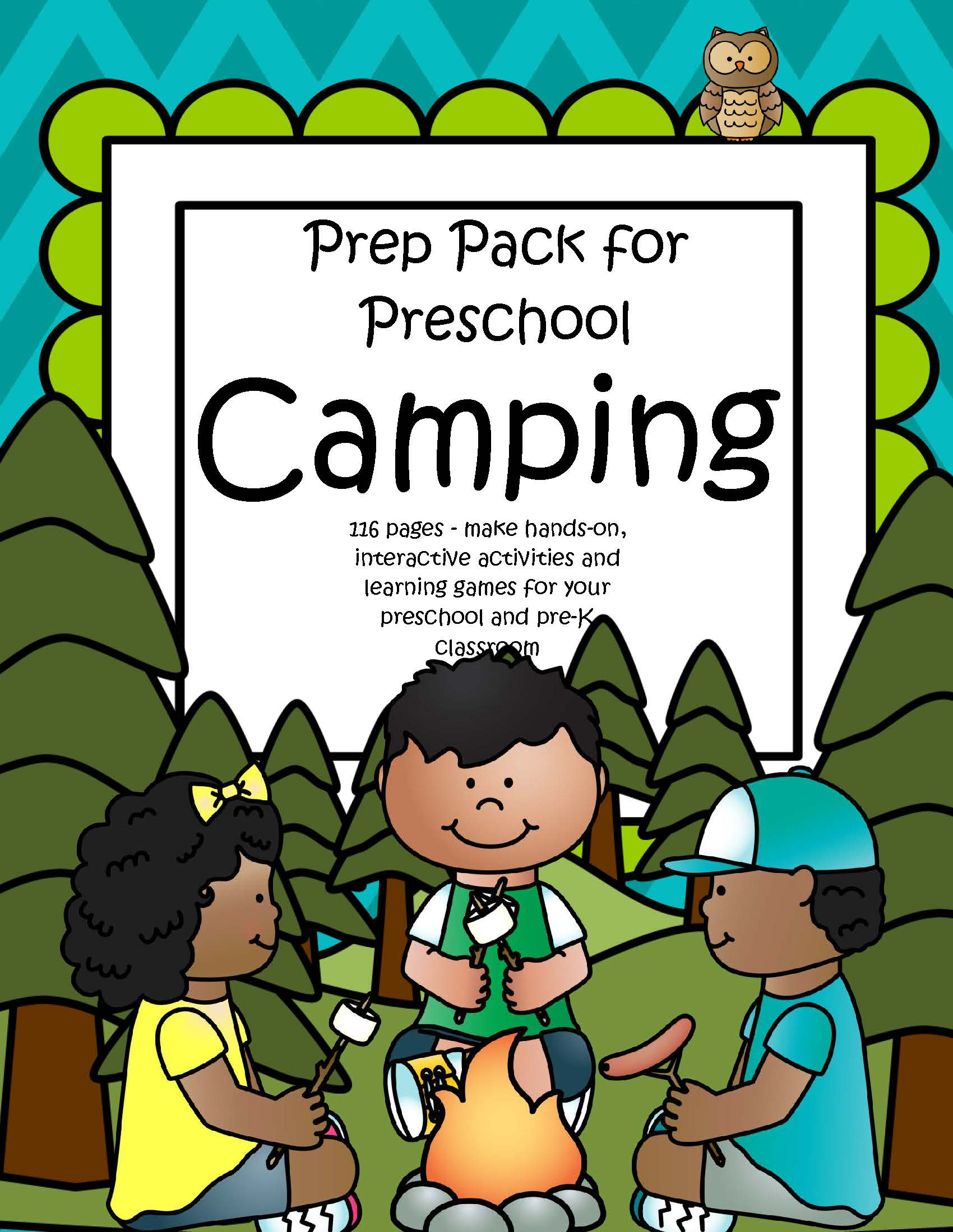 Camping Theme Activities And Printables For Preschool And