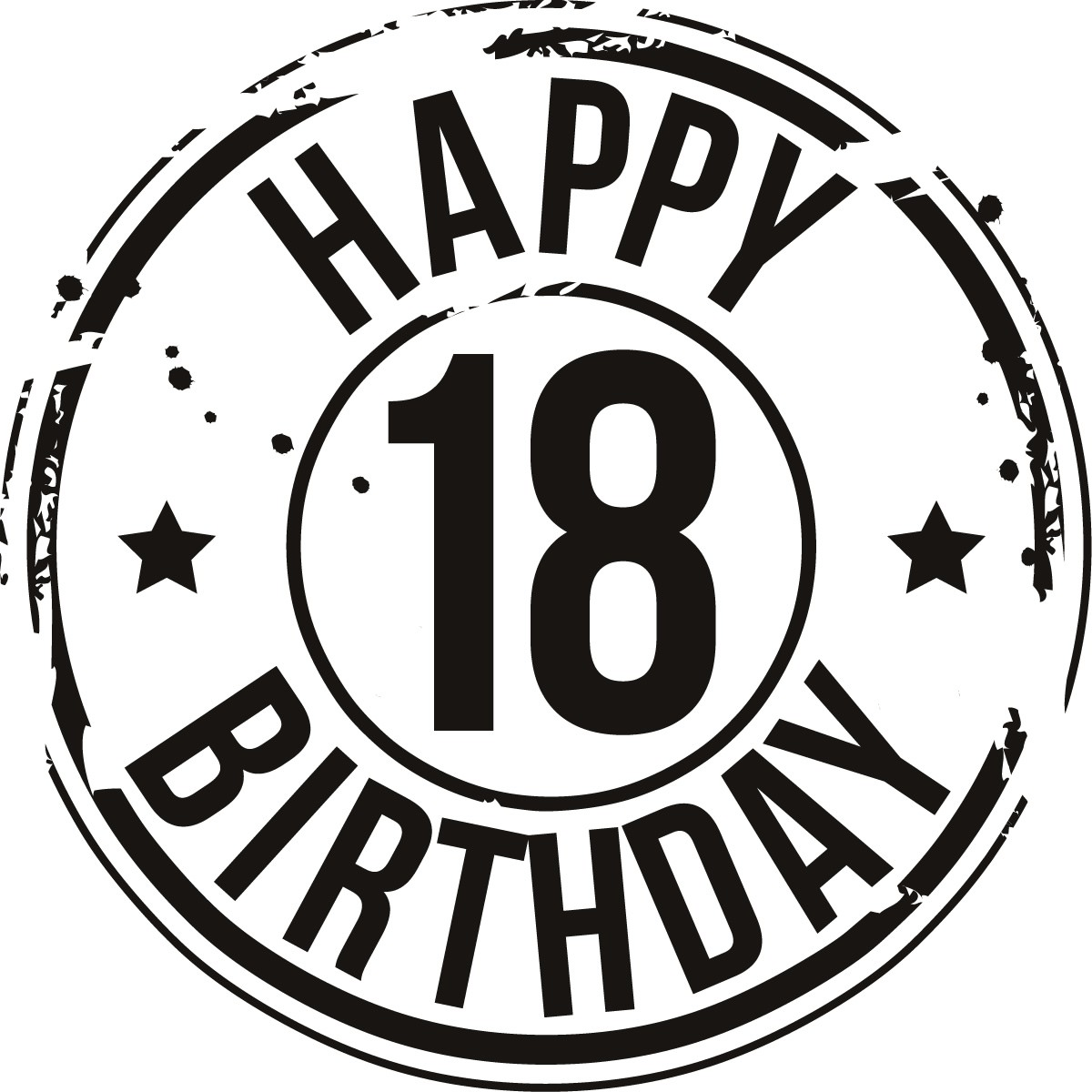 Free 18th Birthday Cliparts Download Free Clip Art Free