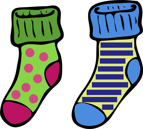 Image result for socks cartoon