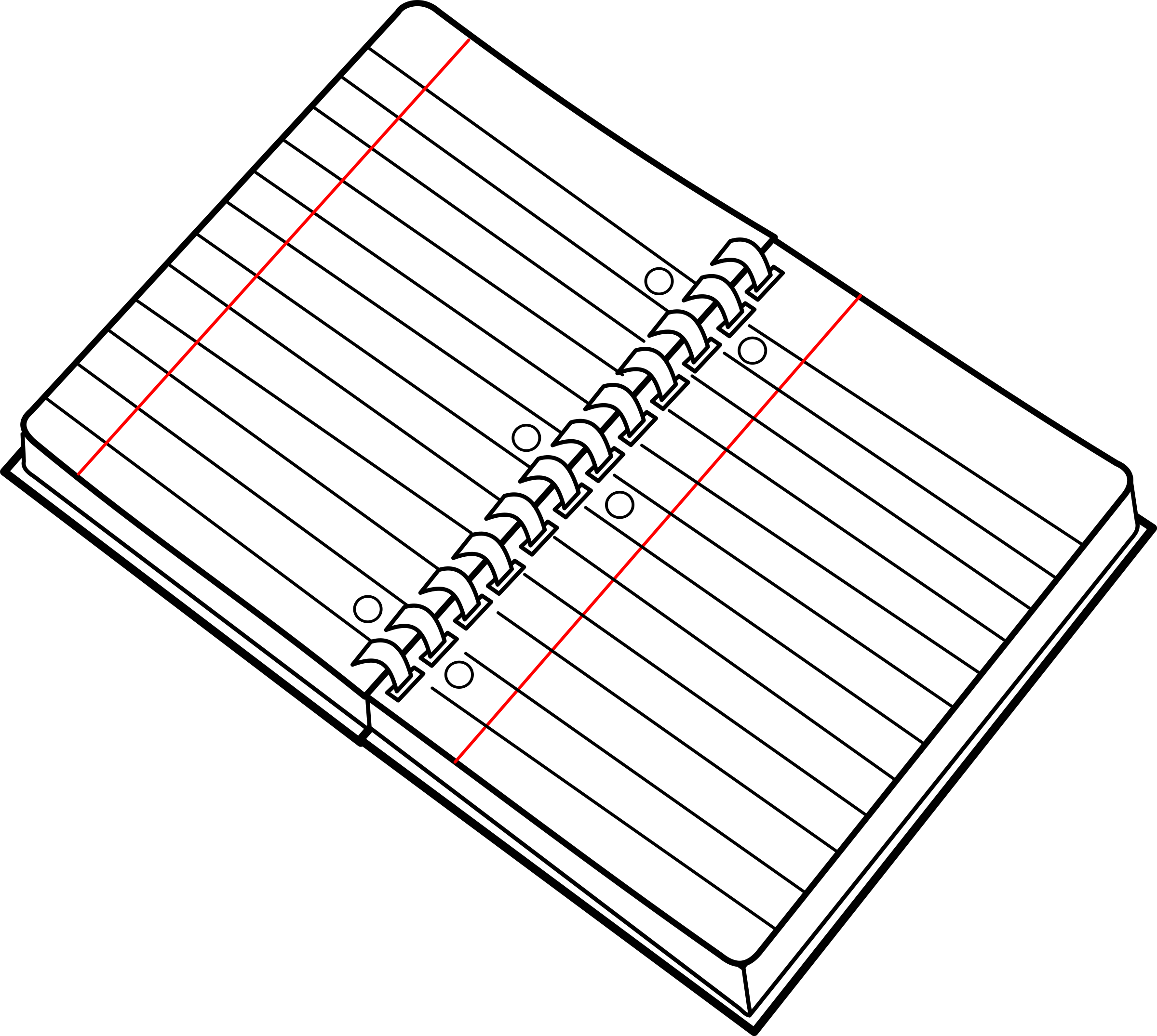 Free Open Notebook Cliparts Download Free Clip Art Free