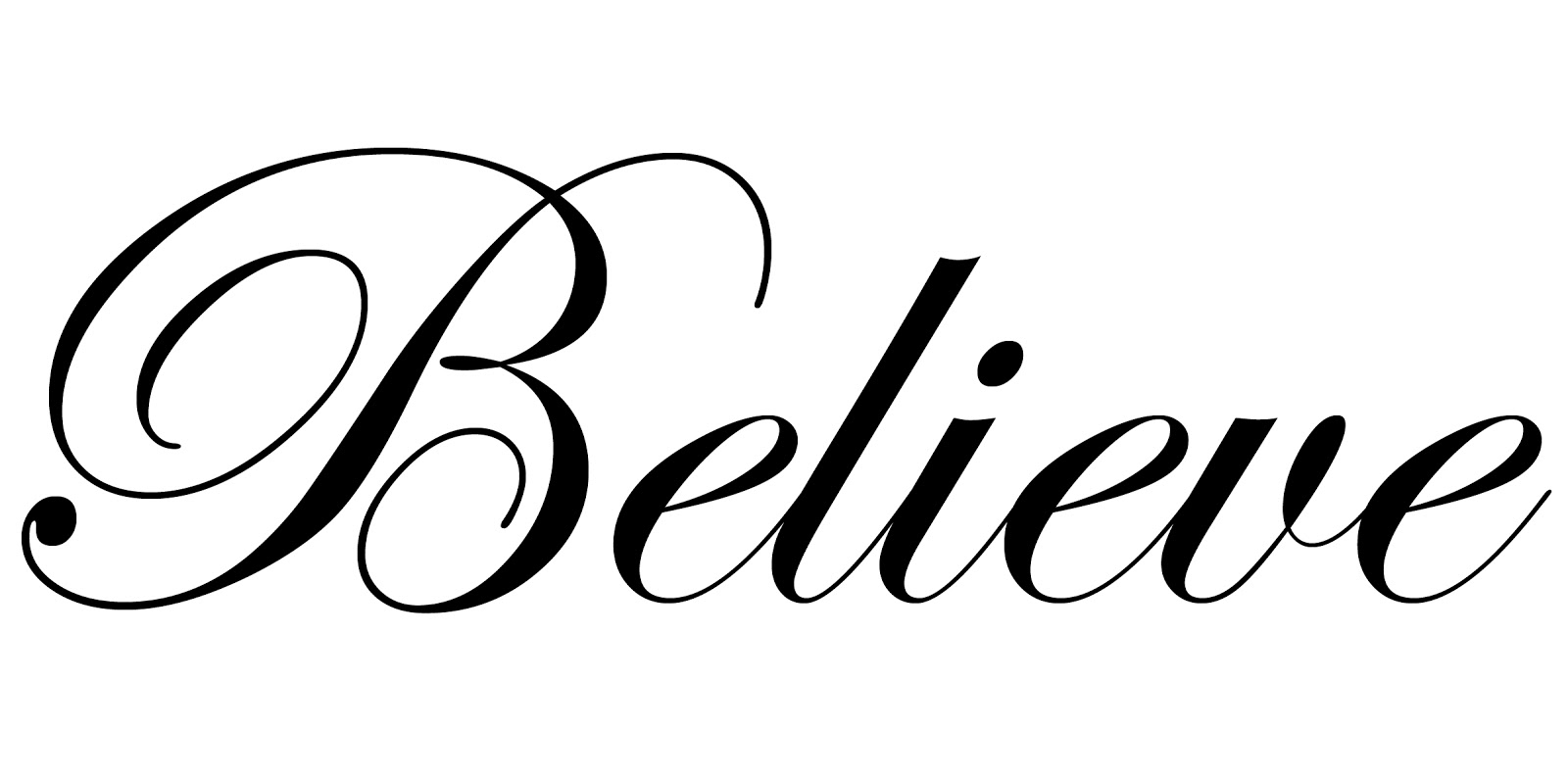 Free Believe Word Cliparts Download Free Clip Art Free