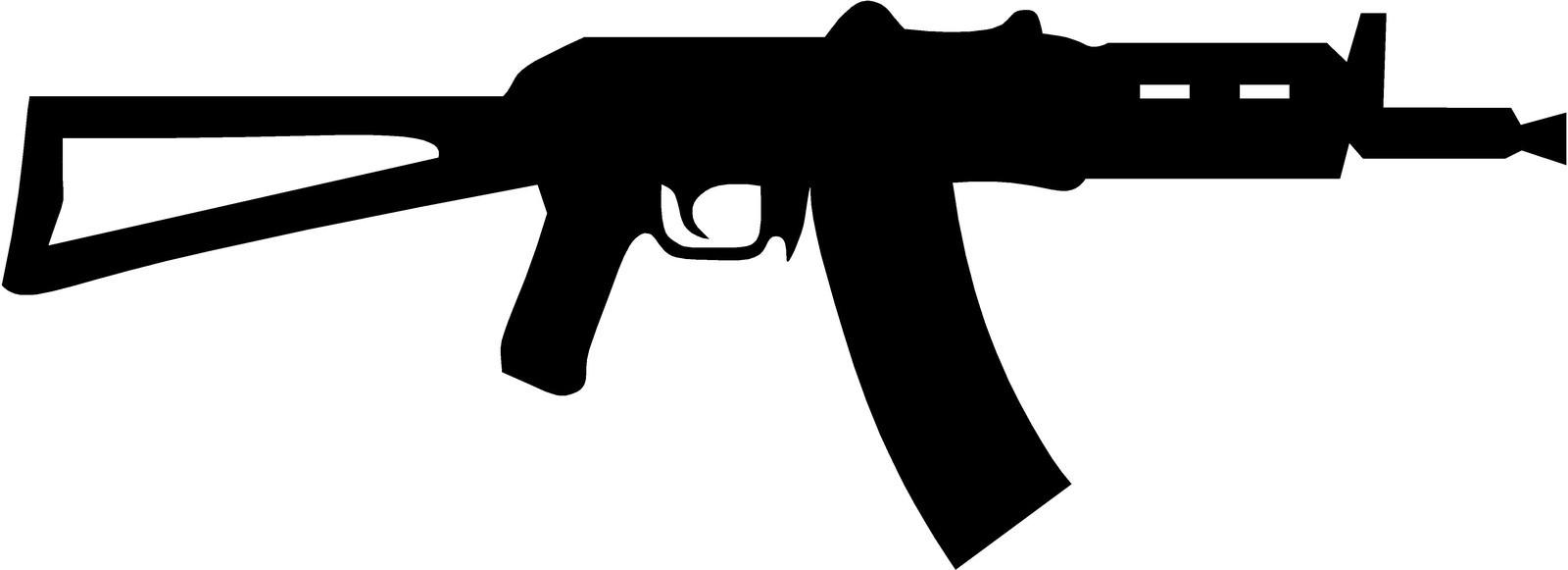 Free AK-47 Cliparts, Download Free AK-47 Cliparts png ... (1600 x 581 Pixel)