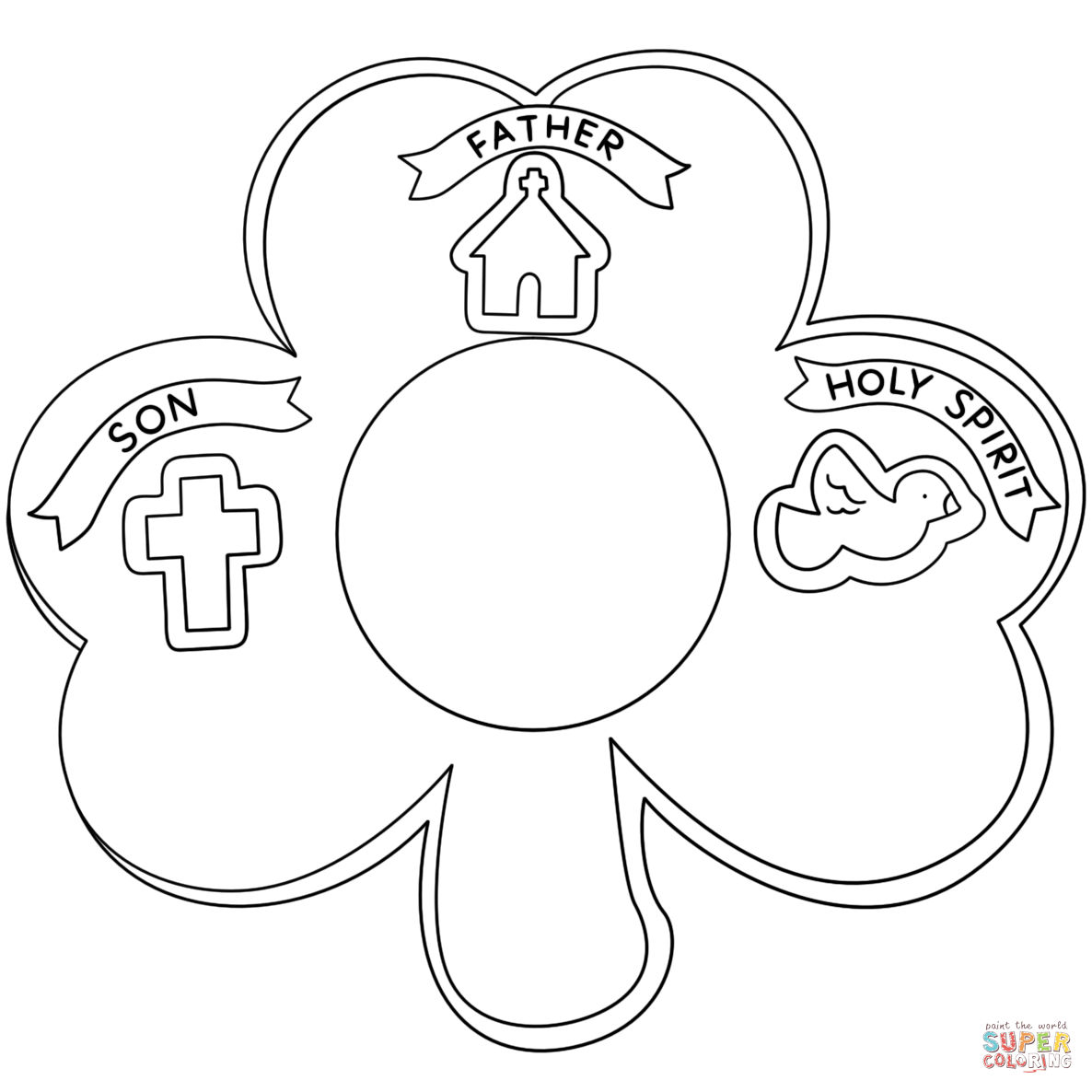 Free Trinity Shamrock Cliparts Download Free Clip Art