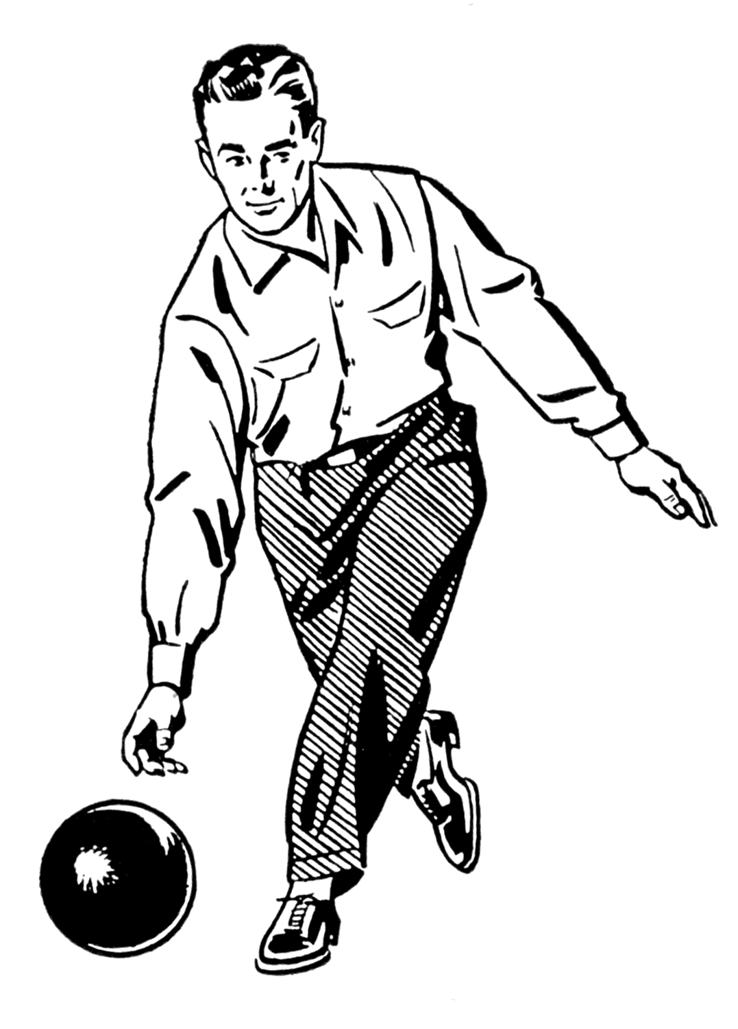 Free Bowling Silhouettes Cliparts Download Free Clip Art