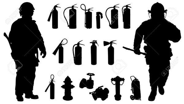 fireman silhouette clip art # 24