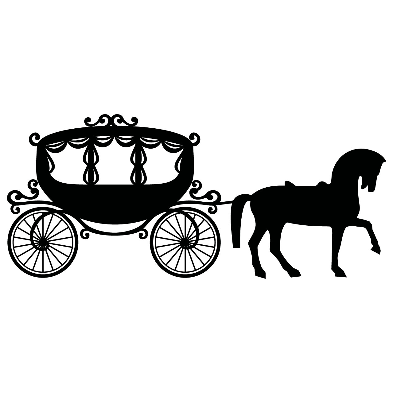 Free Princess Outline Cliparts Download Free Clip Art
