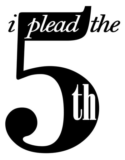Plead Fifth Clip Art