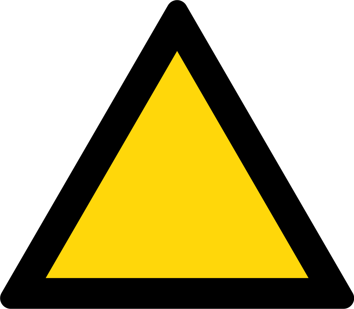Free Yellow Triangle Cliparts Download Free Clip Art