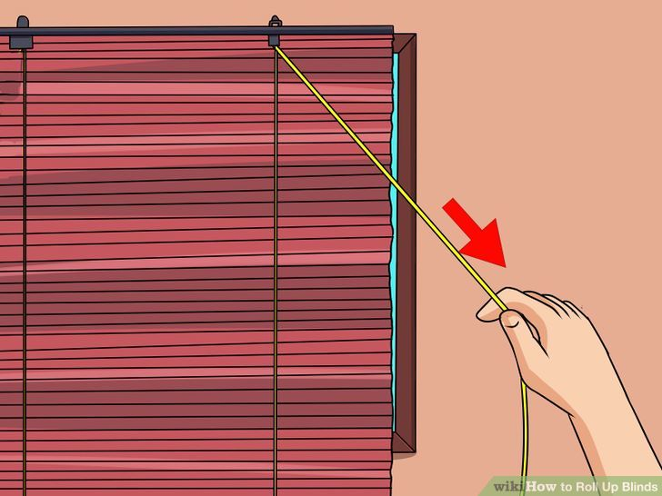 How To Roll Up Blinds 14 Steps