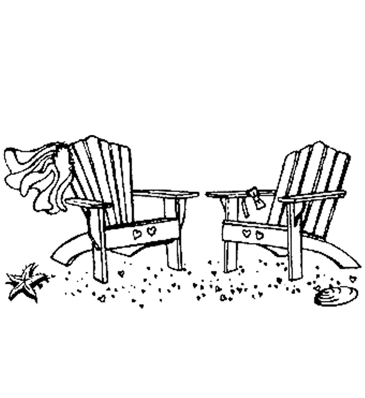 Wedding Beach Chairs