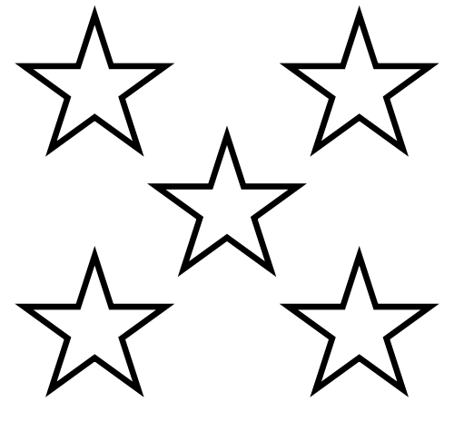 Free Five Star Cliparts, Download Free Clip Art, Free Clip ... (500 x 464 Pixel)