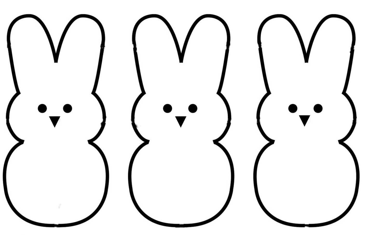 Free Rabbit Standing Cliparts Download Free Clip Art