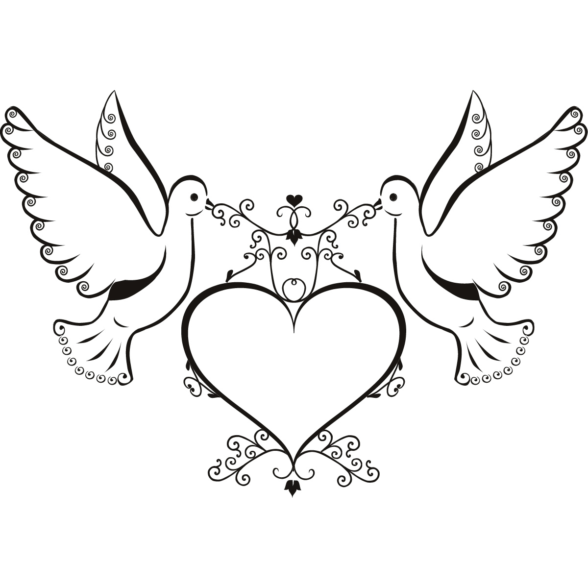 Free Love Doves Cliparts Download Free Clip Art Free