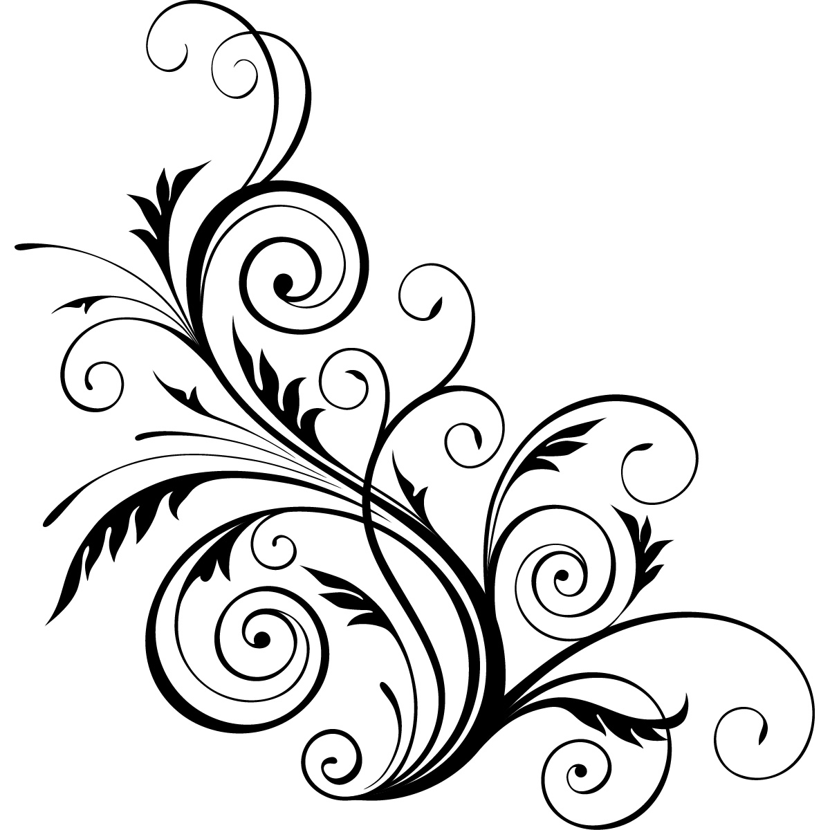 Free Decorative Swirls Cliparts Download Free Clip Art