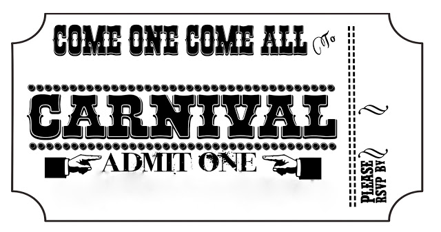 Art Clip Carnival Ticket