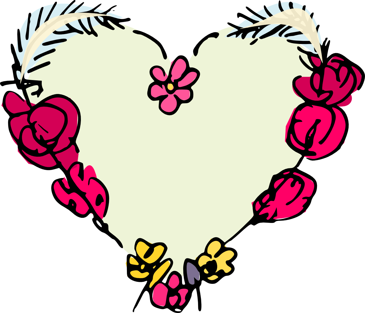 Cute Valentines Day Party Kid Party Banner Clipart Clip