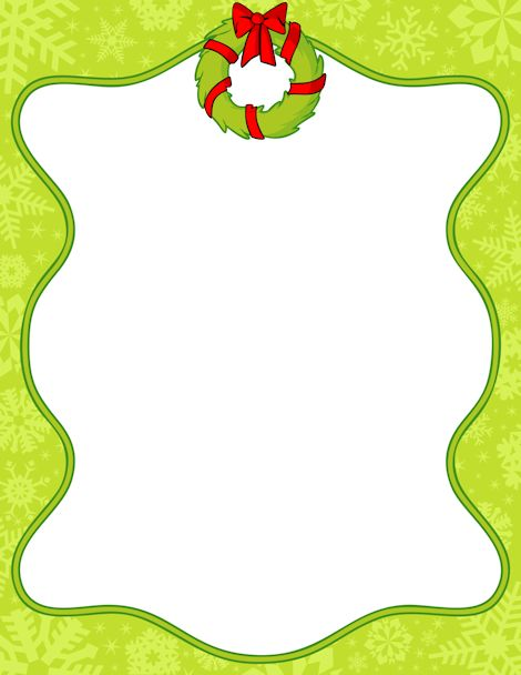 Art Clip Garland And Christmas Frames Borders