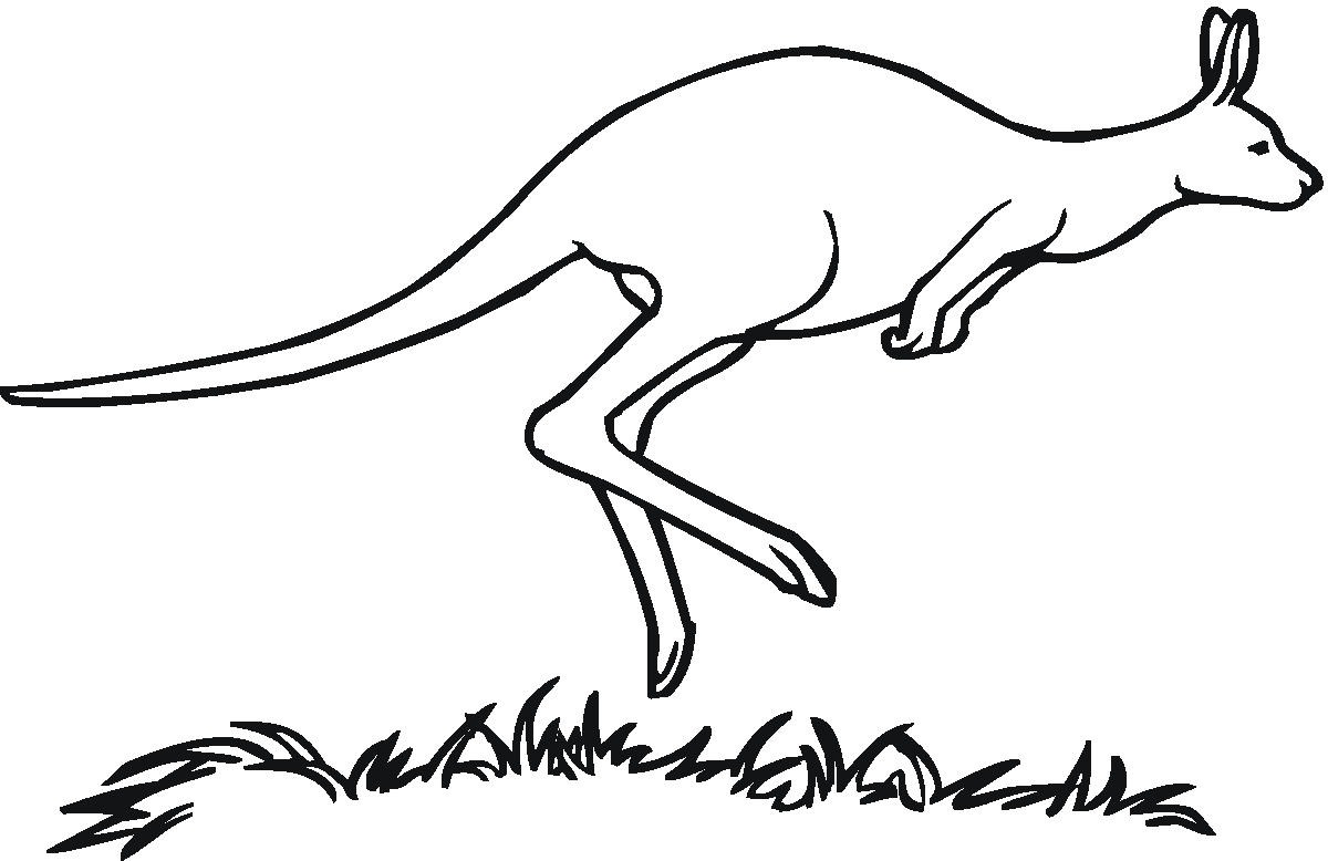 Free Kangaroo Jumping Cliparts Download Free Clip Art