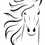 Free Horse Head Clip Art Black And White Download Free Clip Art Free Clip Art On Clipart Library