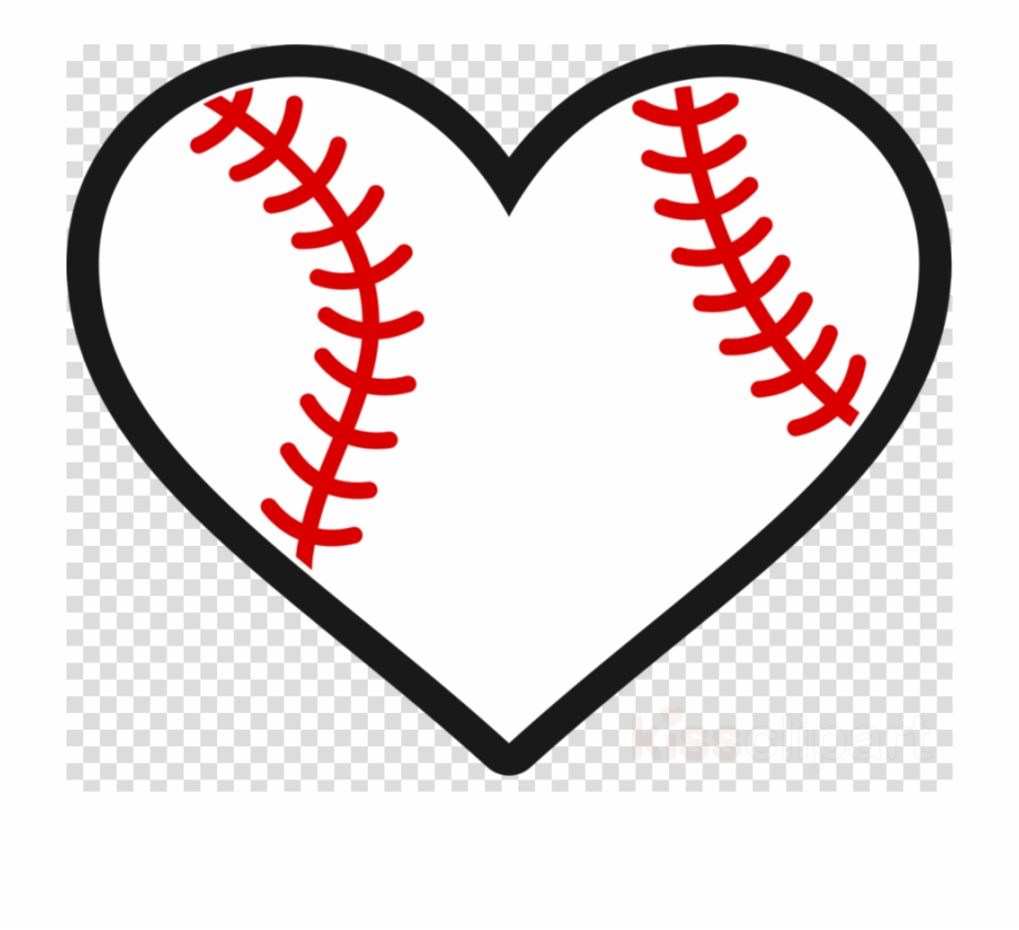 Download Free Baseball Heart Silhouette, Download Free Clip Art ...