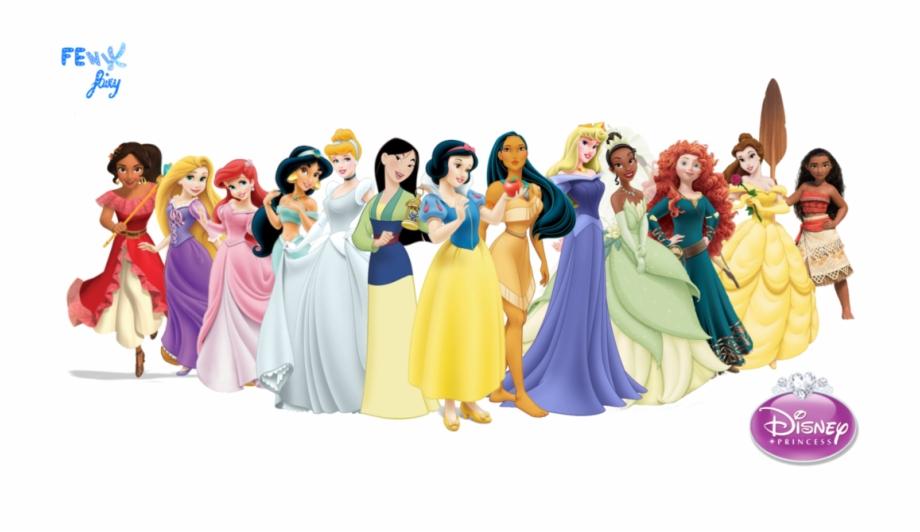 By Fenixfairy Princesses All Disney Princesses Big Clip Art Library