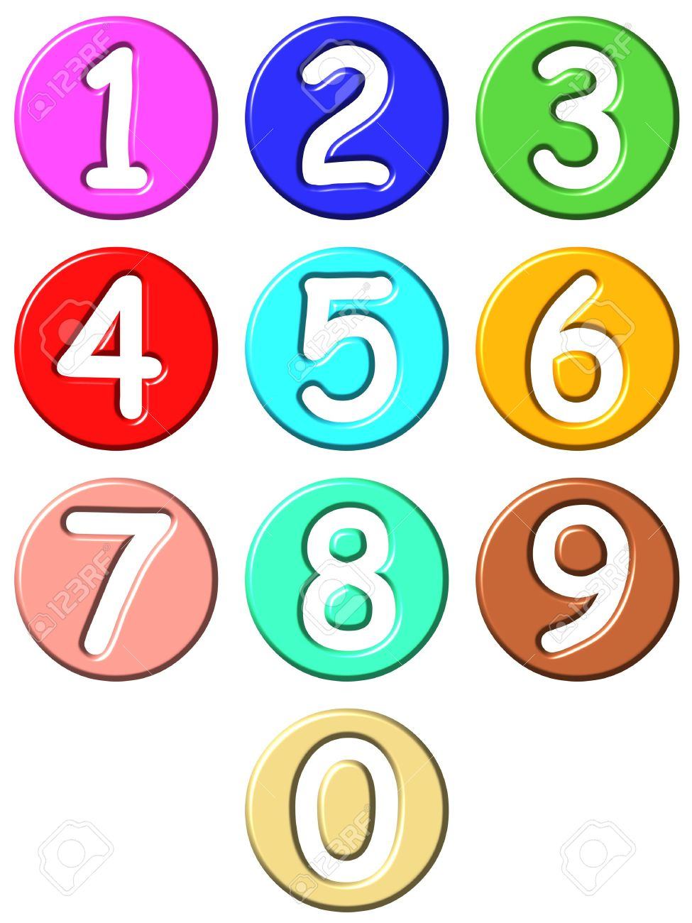 Clip Art Numbers For Kids Clip Art Library