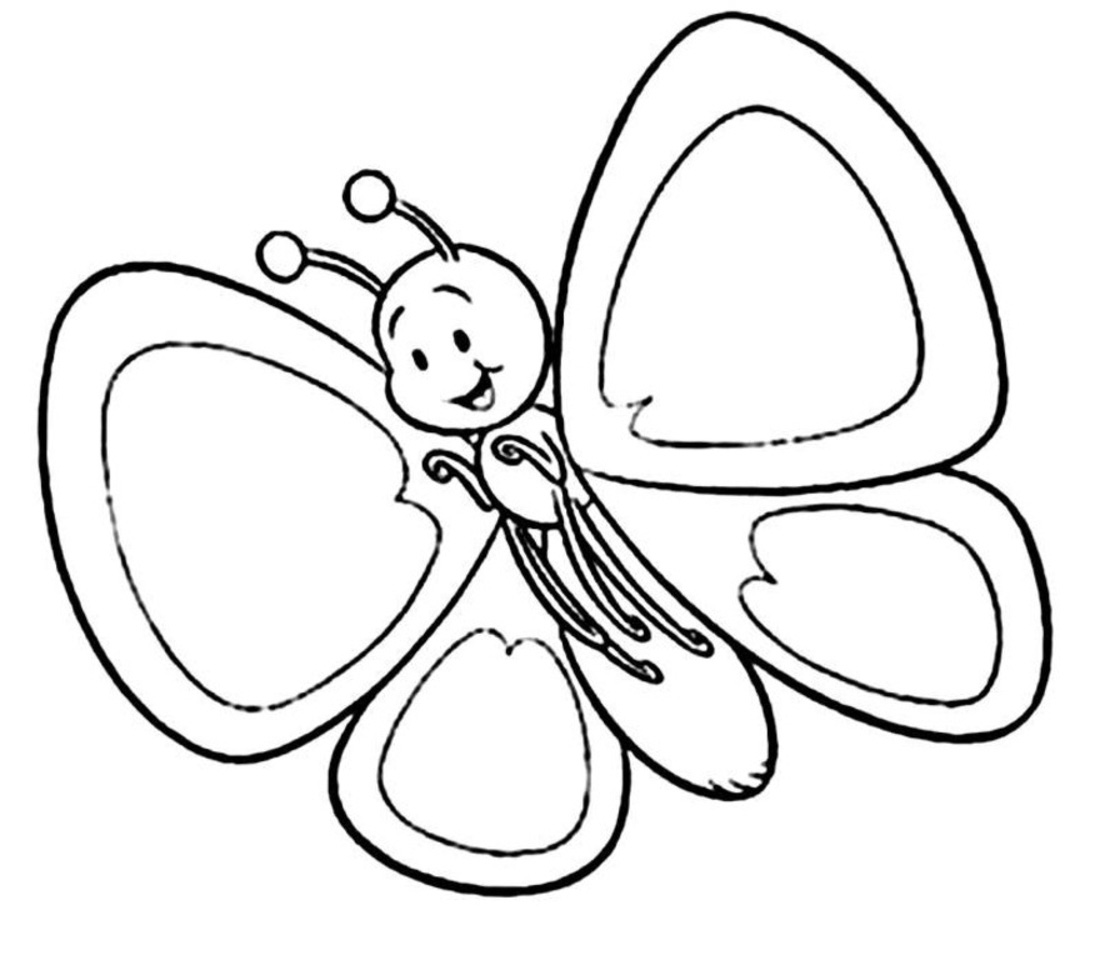 Free Butterfly Clip Art Black And White Download Free