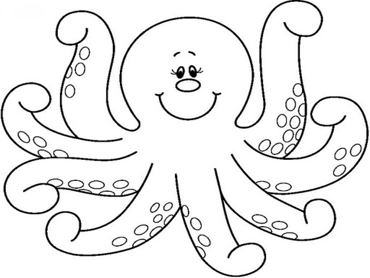 Free Octopus Clipart Black And White Download Free Clip