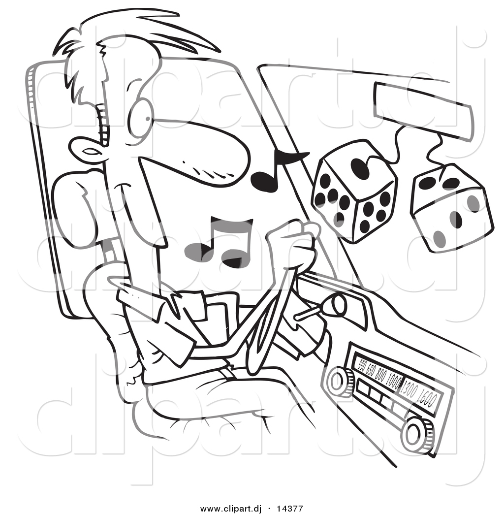 Loud Radio Coloring Coloring Pages
