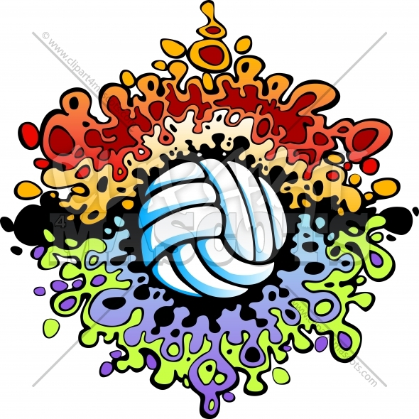 Volleyball Sayings Clip Art