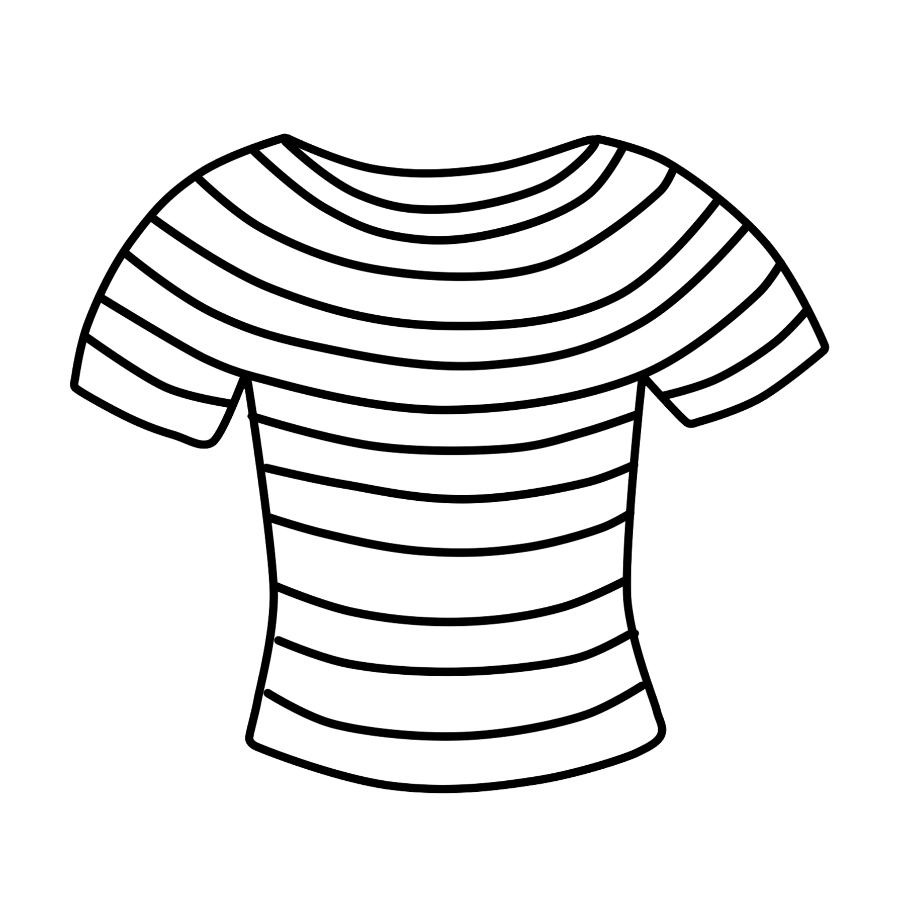 T Shirt Clipart Free Striped Shirt Clip Art Free Clipart Clipart 4 School