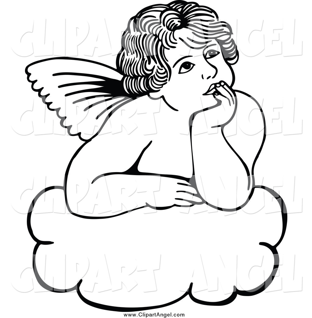 Royalty Free Heaven Stock Angel Designs