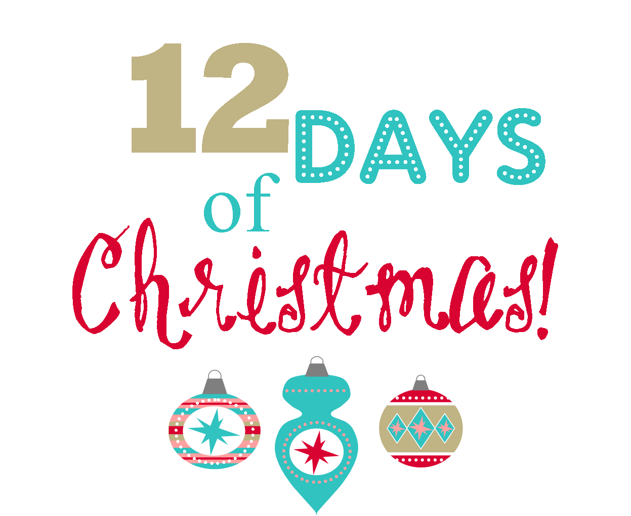 Library Of 12 Days Of Christmas Vector Free Stock