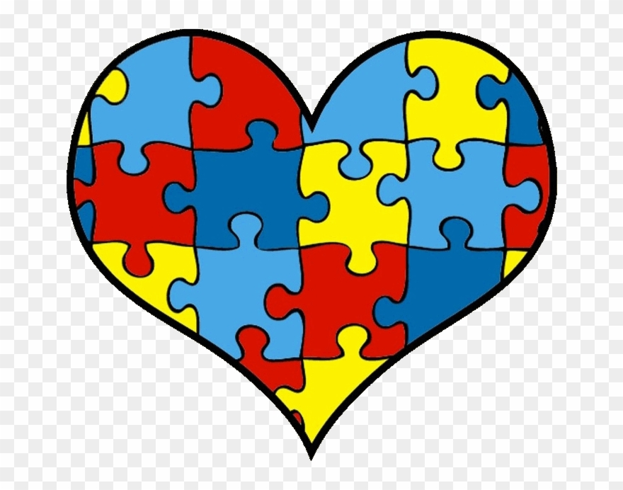 Download Library of autism puzzle heart image black and white ...