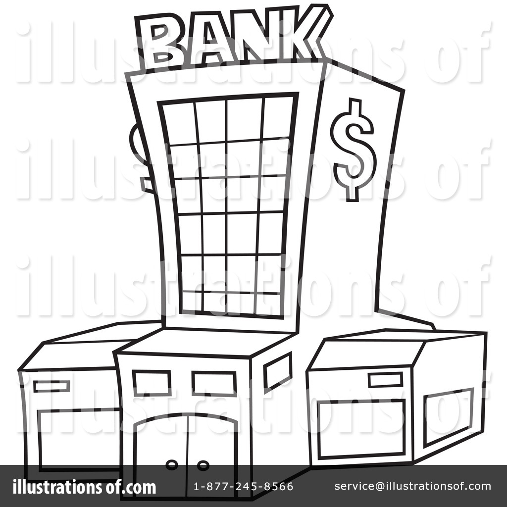 Basemenstamper Bank Coloring Sheet