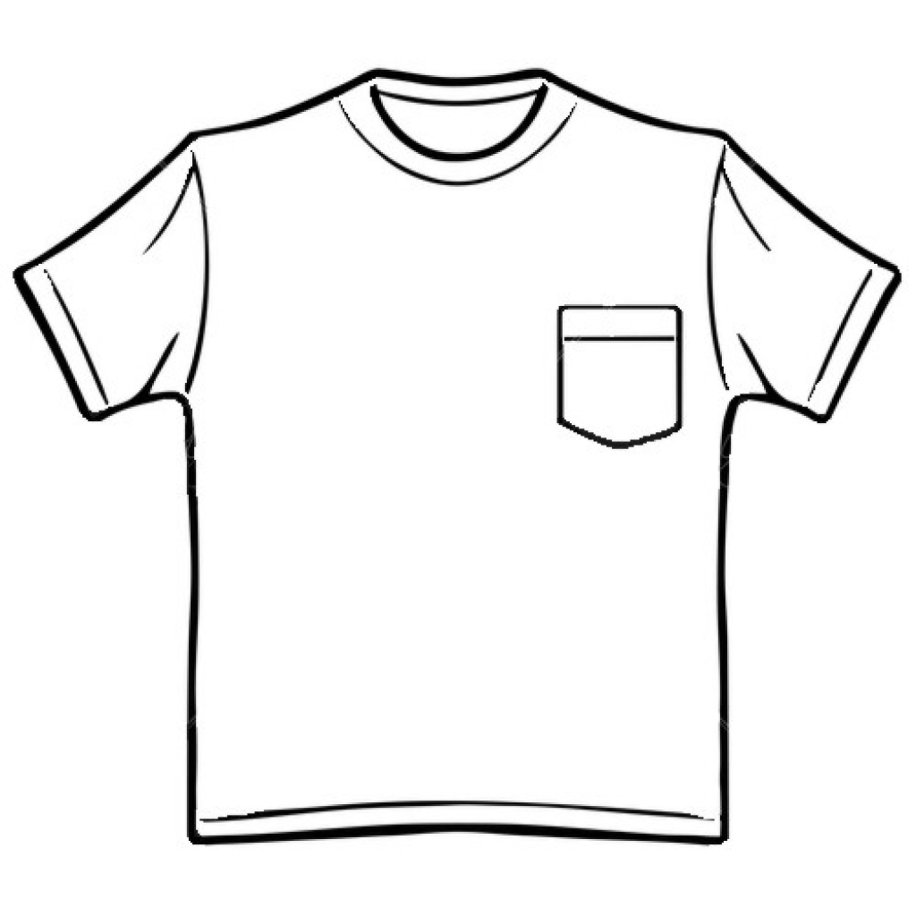 Library Of T Shirt Image Freeuse Download Outline
