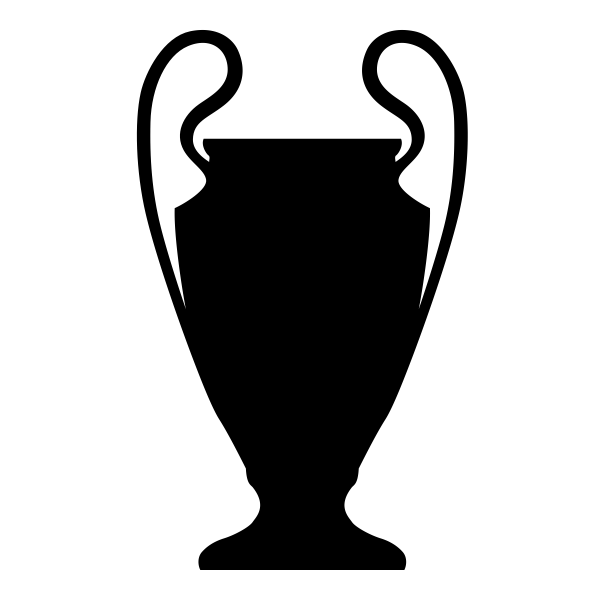 Library of champions league cup banner black and white ...