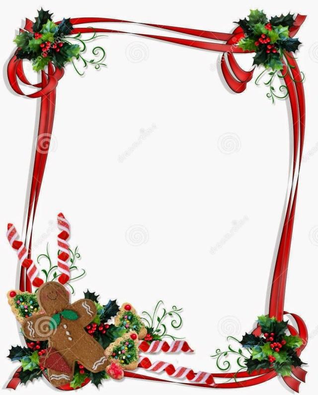 Christmas Borders Free Printables