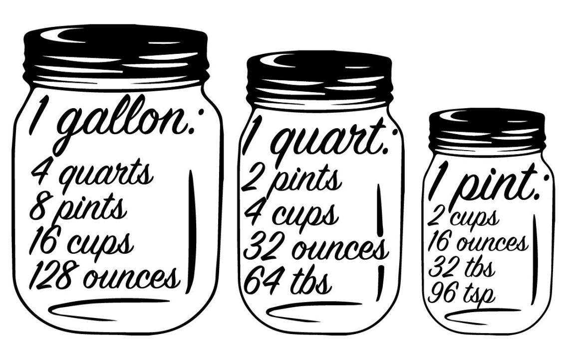 Download Library of clip freeuse stock silhouette gallon quart pint ...