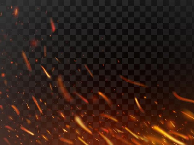 Hoop Basketball Rim Fire