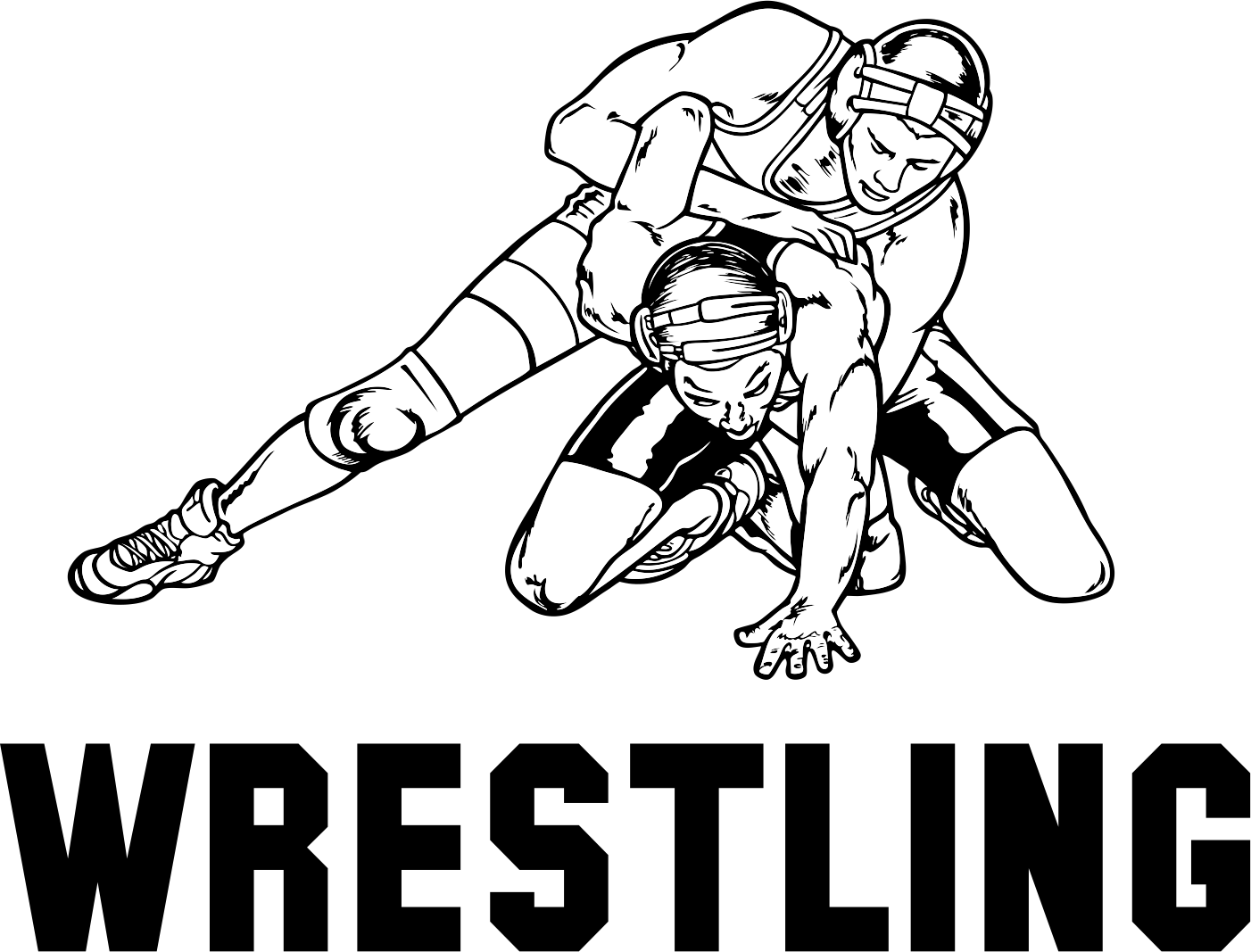 Library Of High School Wrestling Mat Free Stock Files