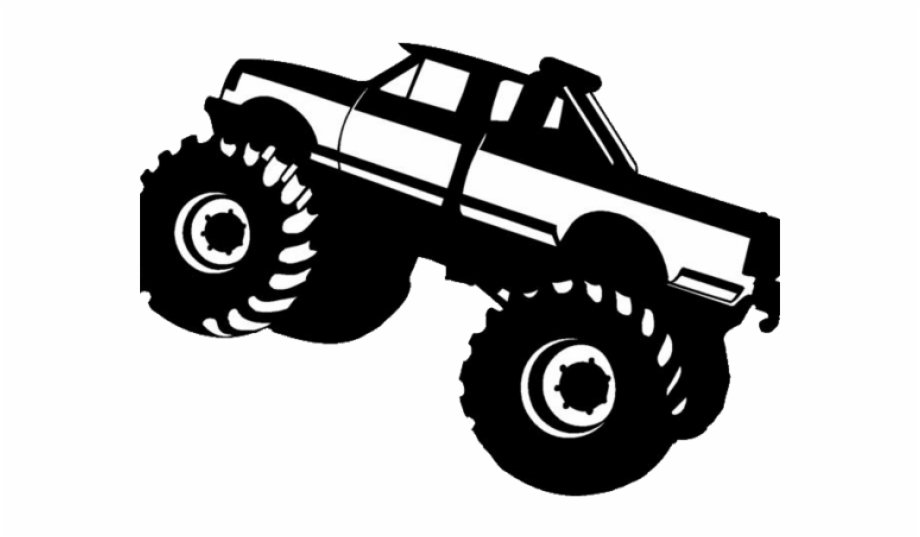 Download Library of free monster truck svg images png files Clipart ...