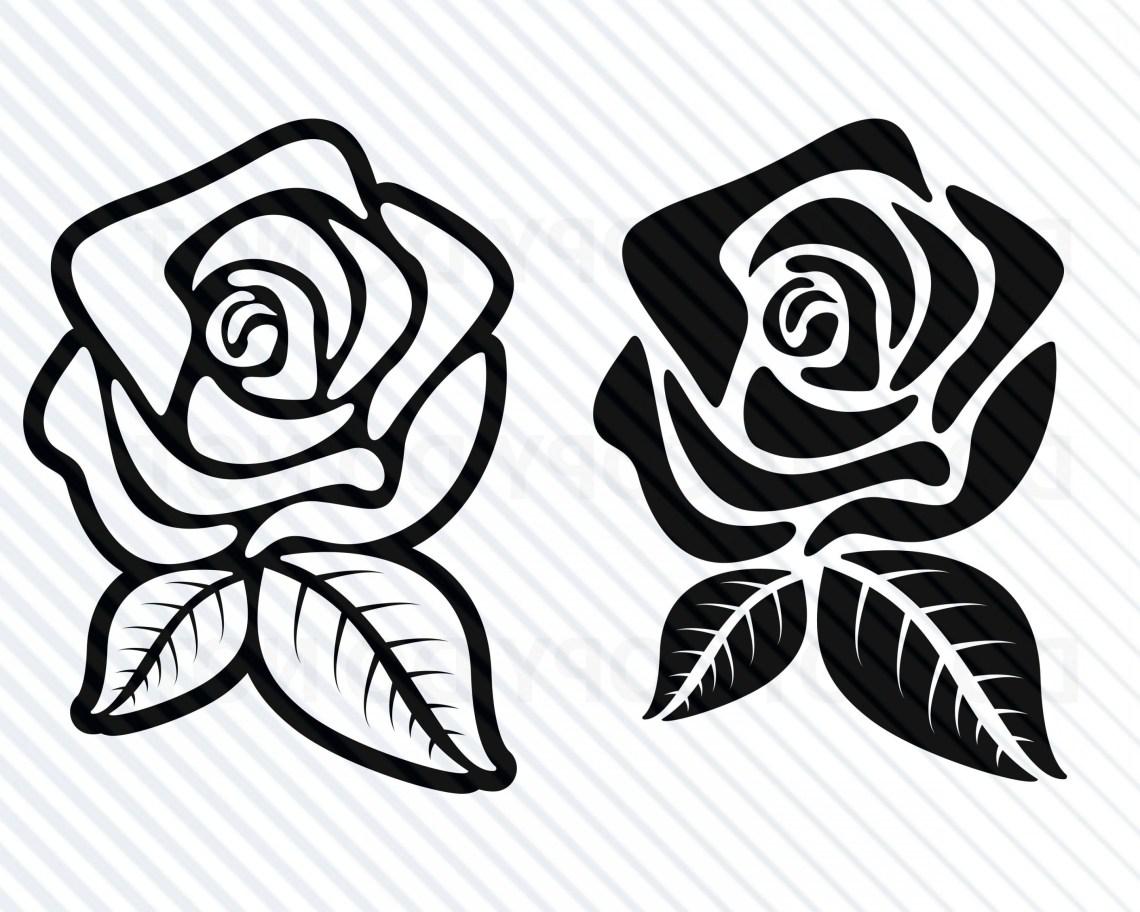 Download Rose Svg Cut File Free