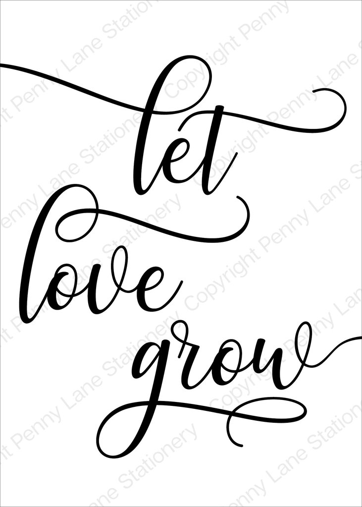 Download Library of let love grow clipart transparent download png ...