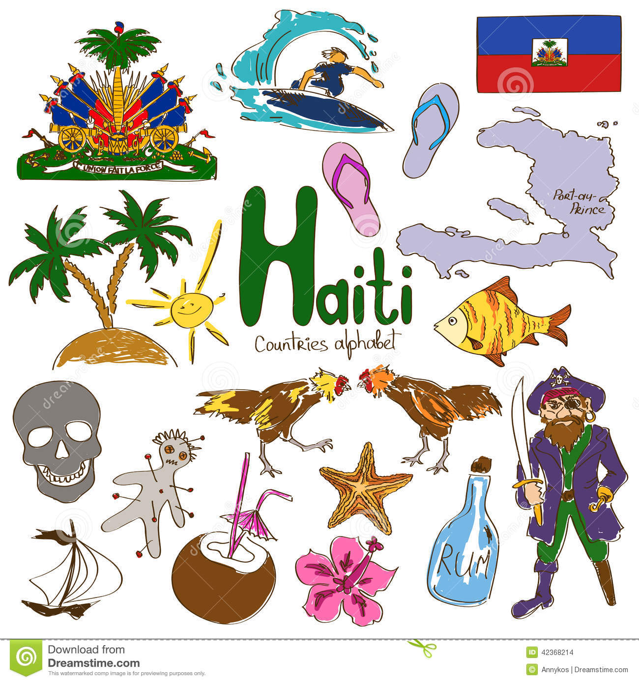 Library Of Map Of Haiti Free Library Files Clipart