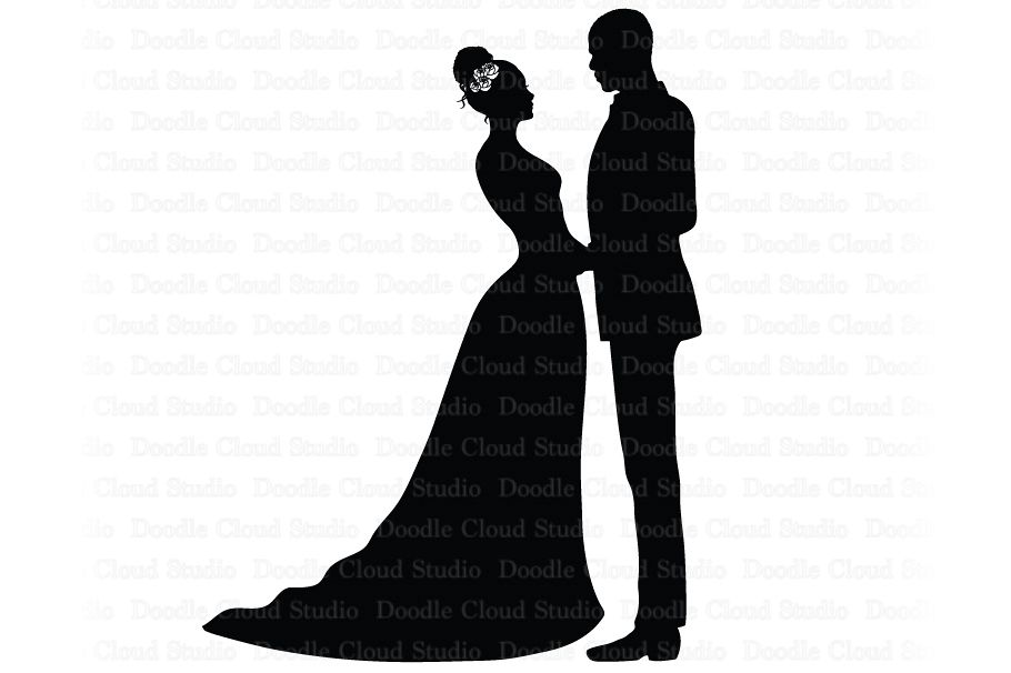 Download Library of married couple clip art transparent stock svg ...