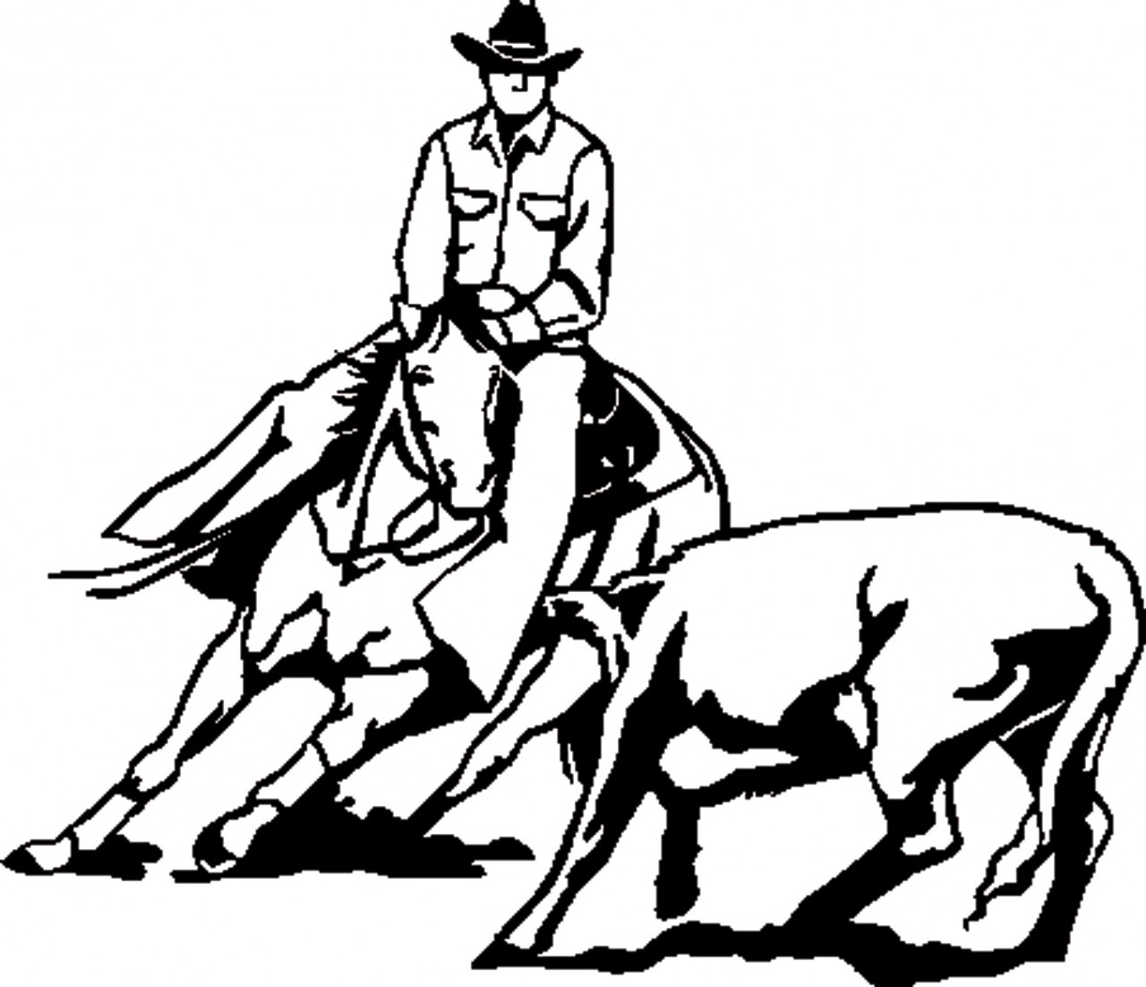 Library Of Team Penning Clip Art Transparent Download